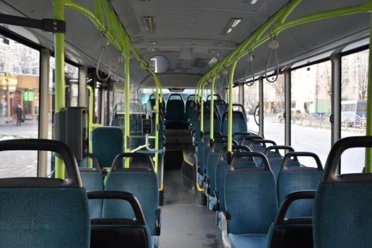 Луцьком сьогодні почали курсувати нові автобуси