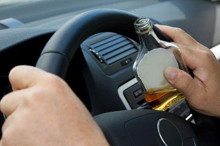На Новий рік патрульні зловили 267 п'яних водіїв