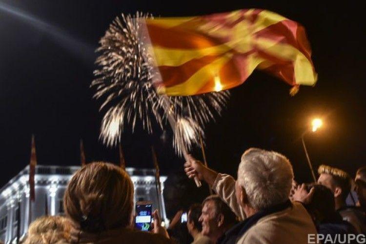 У Македонії проведуть референдум щодо зміни назви країни