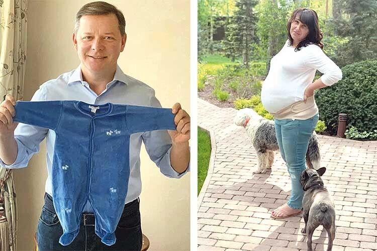 Олег Ляшко незабаром вдруге стане батьком