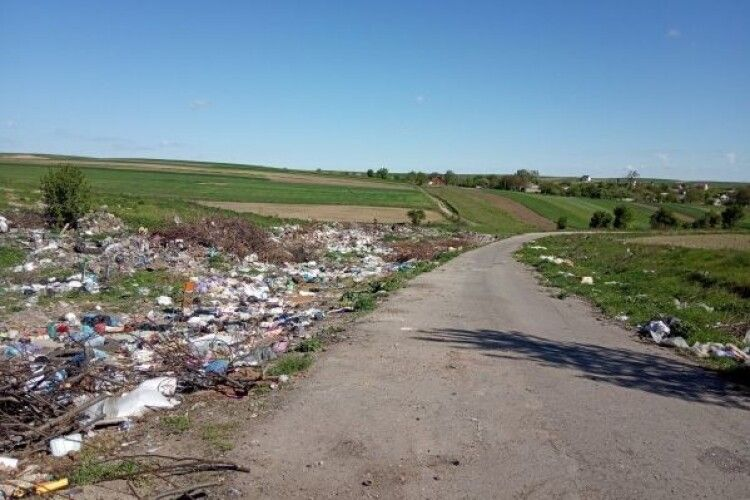 На Рівненщині виявили майже сотню нелегальних сміттєзвалищ