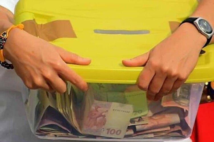 Волинянин вкрав скриньку з коштами на лікування дитини