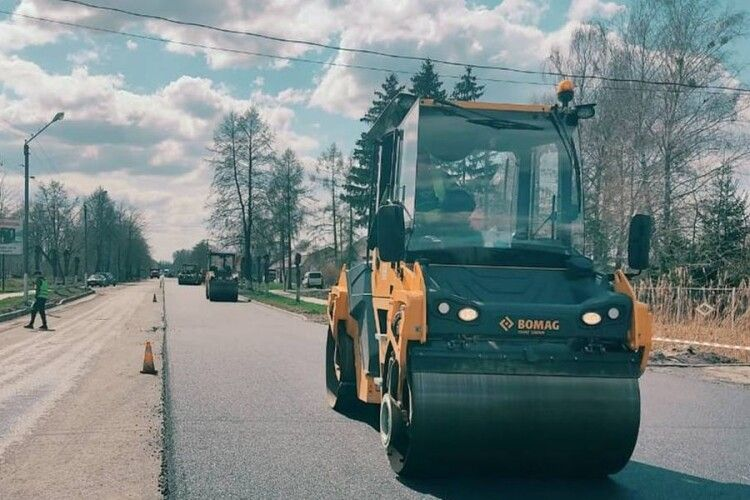 У селищі на Волині ремонтуватимуть дорогу