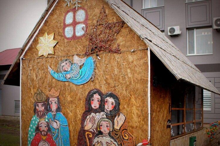 Новорічно-різдвяні свята у «Волиньобленерго»: живі вівці та оригінальні фотолокації (Фото)