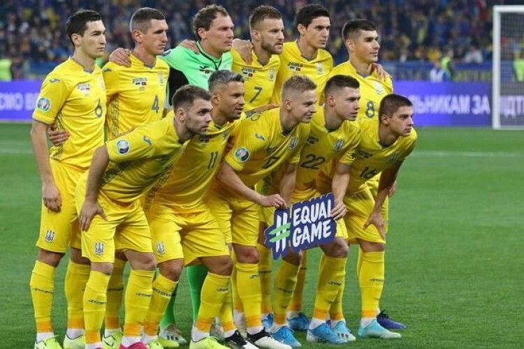 Україна оголосила заявку на матч з Німеччиною