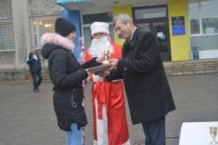 Нагородили кращих вихованців Любешівської ДЮСШ