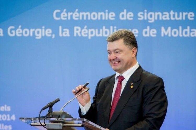 Порошенко: Україна має бути членом ЄС, і завдання влади – наближати цей день