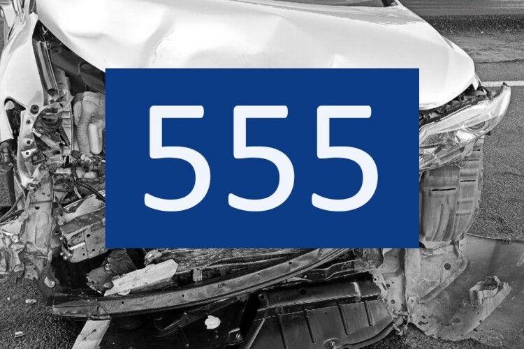555 ДТП – за 9 місяців: патрульні назвали головні причини аварій на Волині
