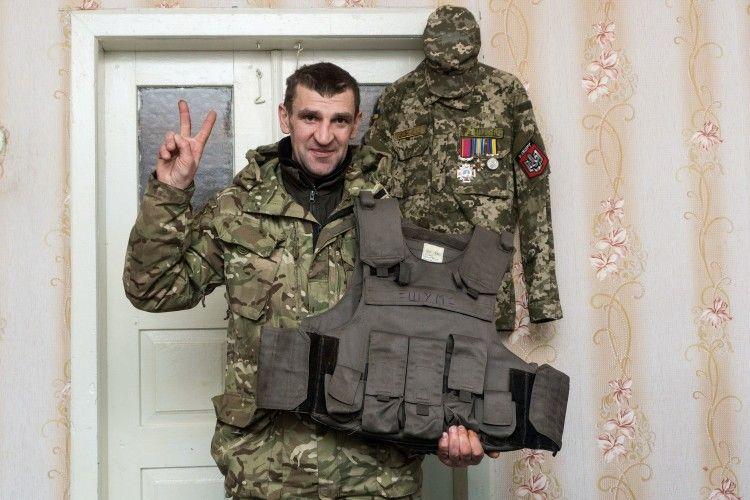 Кіборг Василь Шумик: «Я вижив у тому пеклі. На щастя чи на жаль…»