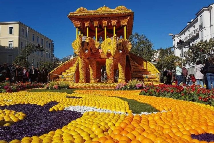 У Франції розпочався фестиваль лимонів