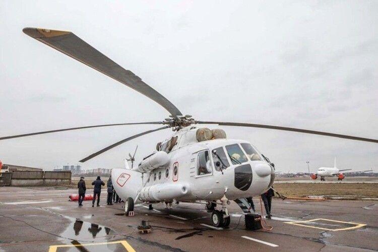 В Україні для перевезення хворих залучать літаки і вертольоти, – МОЗ