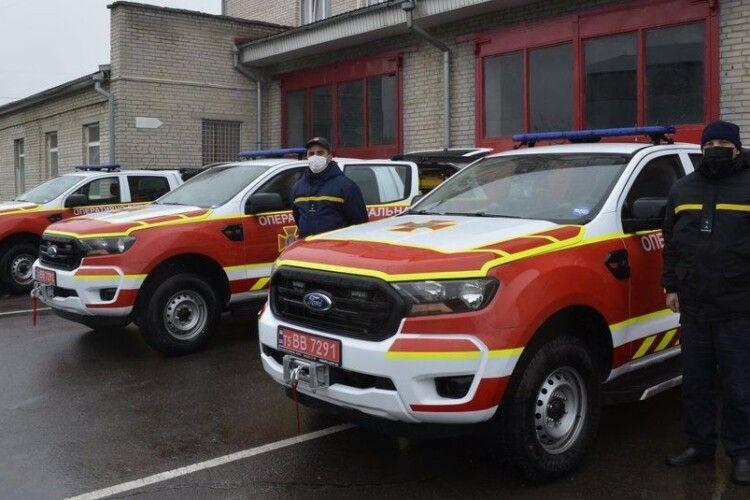 На Ратнівщину передадуть нові авто для рятувальників. Яка їх вартість?
