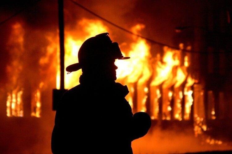 Волинські рятувальники за тиждень погасили 10 пожеж