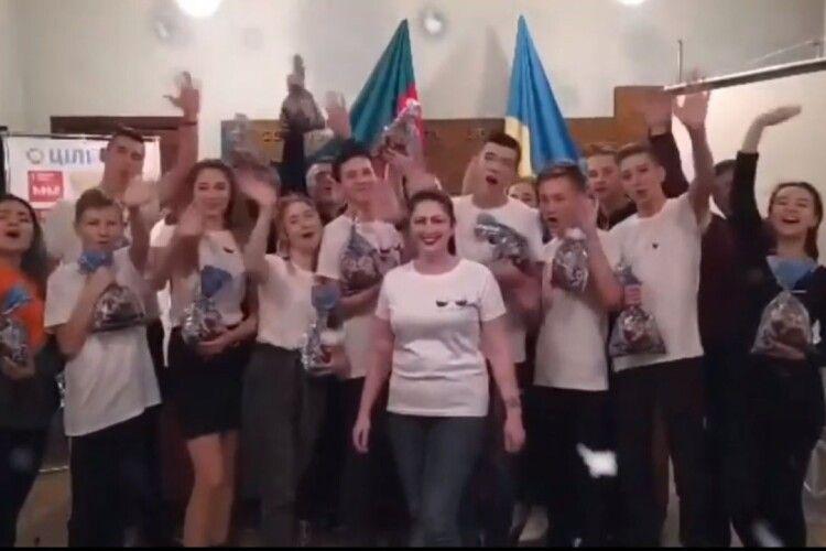 Боратинську громаду з новорічними святами привітали мешканці українського Нью-Йорку (Відео)