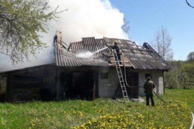 У волинському районі трапилося дві пожежі