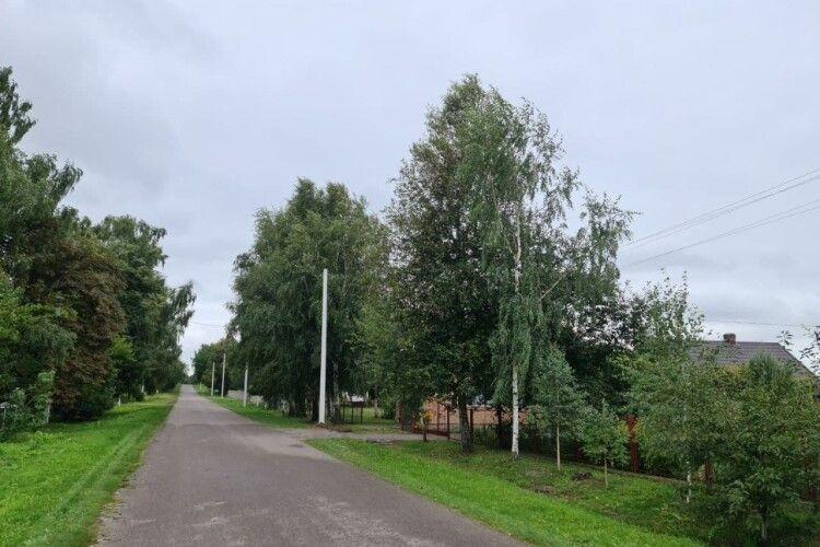 У двох селах біля Луцька буде сучасне вуличне освітлення (Фото)