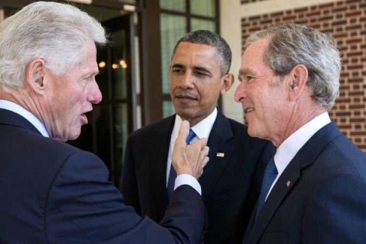 Обама, Клінтон і Буш готові на камеру прийняти вакцину від коронавірусу