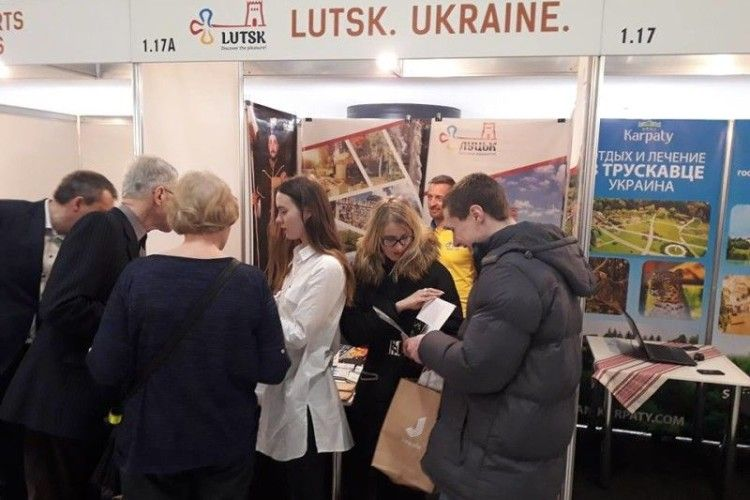 Як лучани агітували литовських туристів