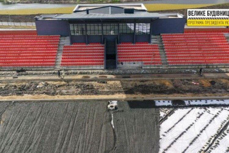 Будівельна готовність стадіону «Локомотив» у Ковелі – 60%