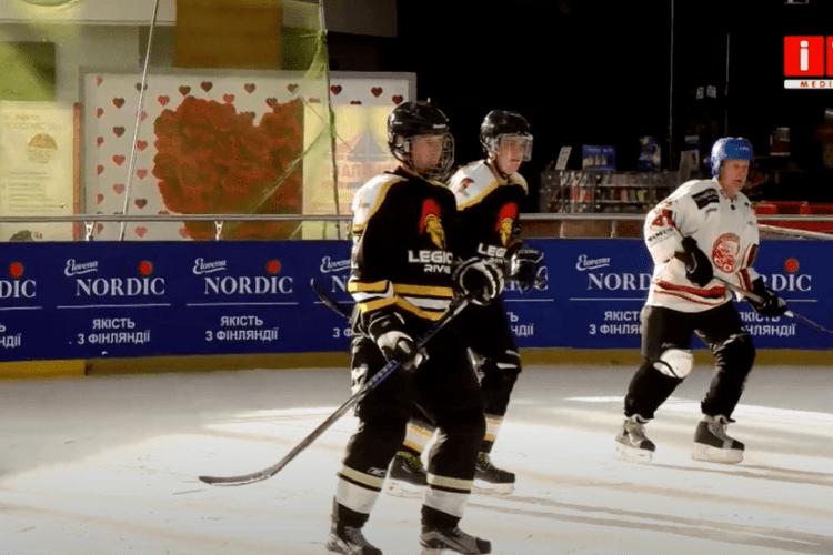 Перший кубок Рівненської області з хокею завоювала команда зі Славути (Відео)