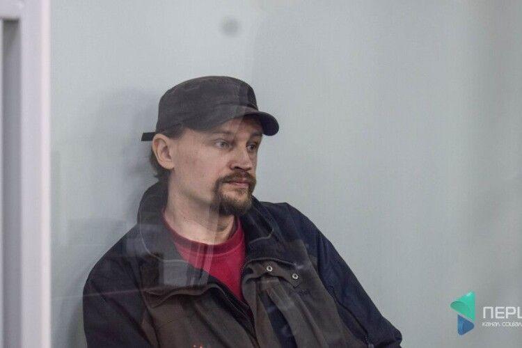 Луцький терорист Кривош хоче, аби Зеленського допитали, як свідка у його справі