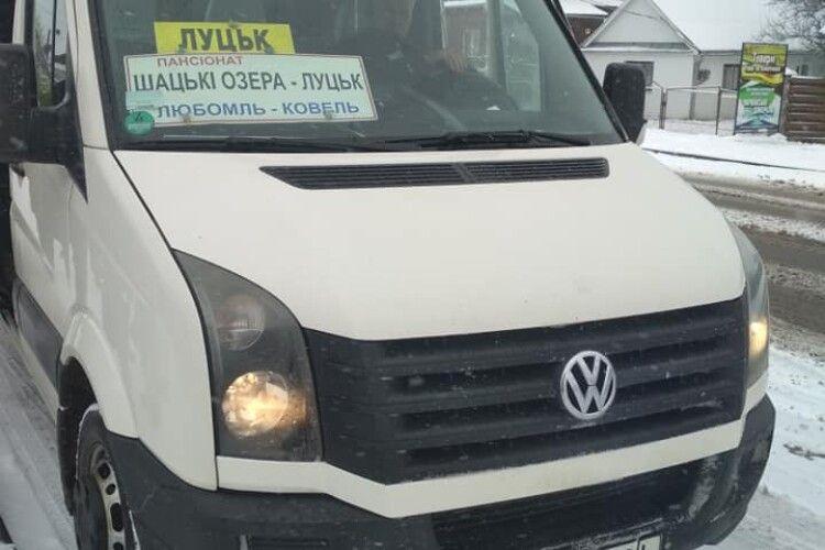 «Бери ці гроші з кров'ю»: водій маршрутки в Любомлі відмовився безплатно везти учасника АТО