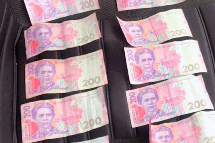 Водій із фальшивим посвідченням намагався відкупитися від поліції десятьма портретами Лесі Українки (Фото)