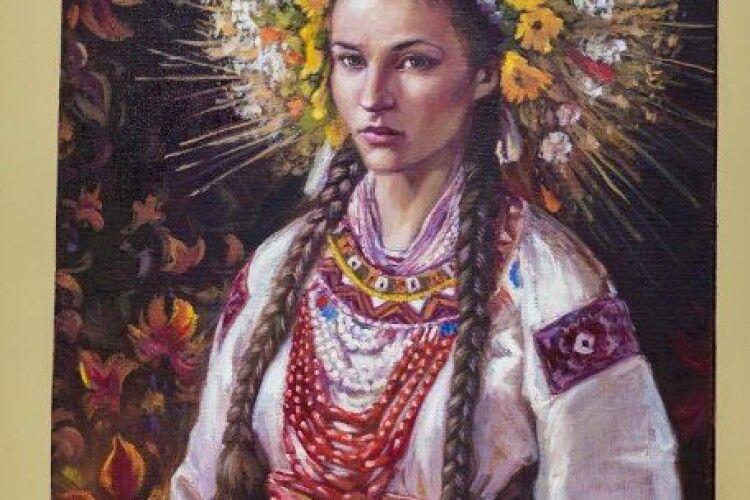 На виставці у Луцькому прикордонному загоні представили портрети жінок з різних регіонів України