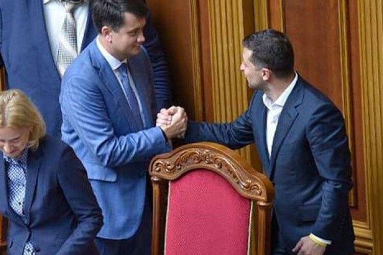 Разумков запропонував Зеленському накласти вето на закон про олігархів