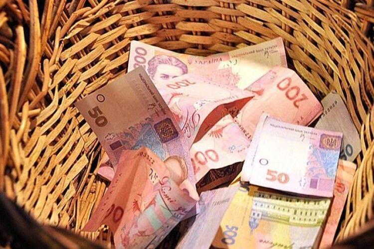 Волиняни сплатили майже 6,8 мільярда гривень податків