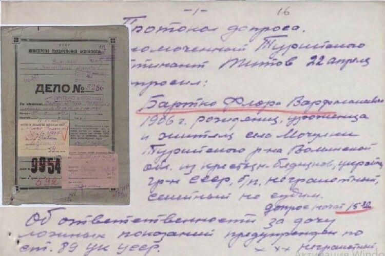Державний архів Волинської області оприлюднив нові справи репресованих