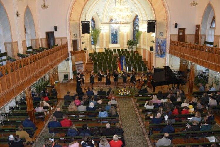 Дні німецької культури у Луцьку завершилися концертом класичної музики
