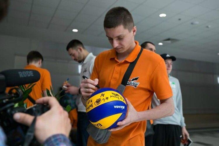 Волейбол: львівський Барком залишає лідер команди (Фото)