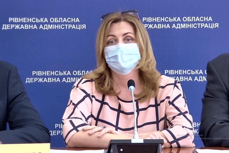 На Рівненщині медиків, інфікованих Covid-19, на 2,5% більше, аніж в середньому по Україні