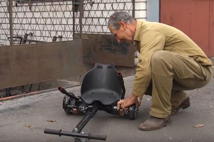 Чернігівський підполковник упевнений: майбутнє —  за електричними велосипедами