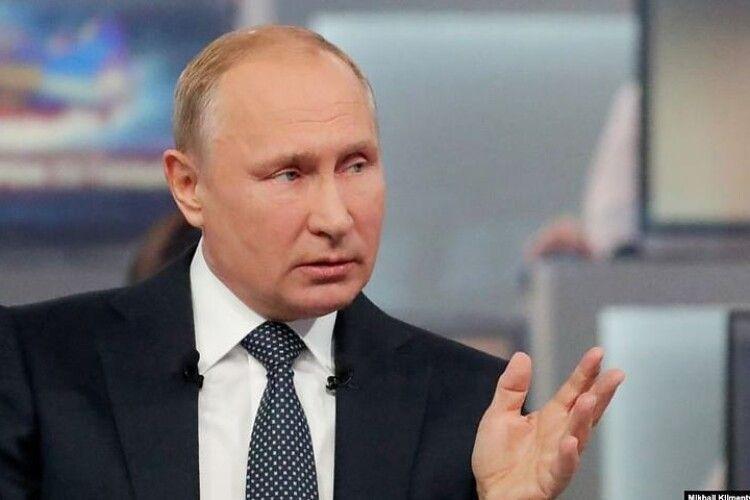Путін назвав Київ та Київську область «російськими»