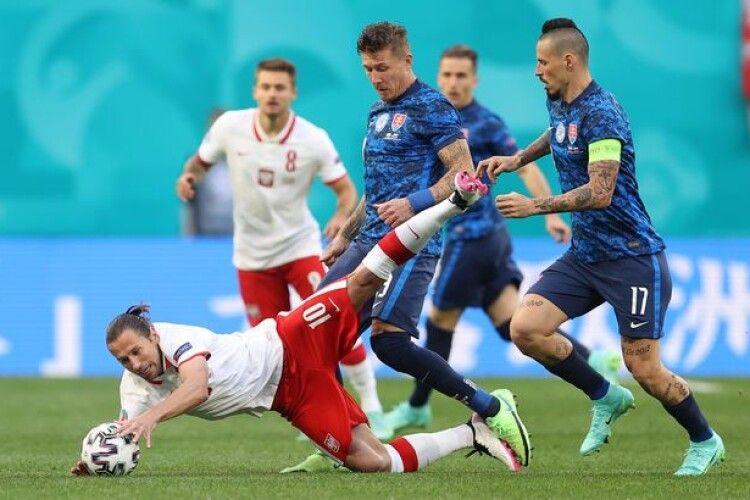 Прогноз волинського вуханя розслабив Роберта Левандовського і компанію: на старті Євро-2020 Польща сенсаційно поступилася Словаччині (Відео)