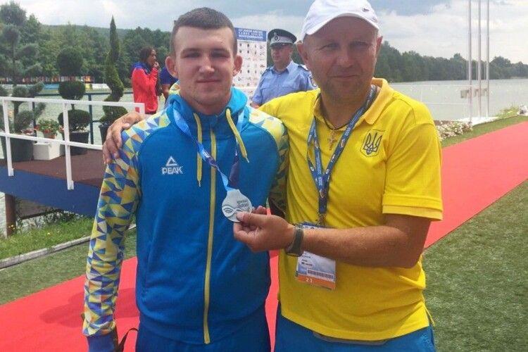 Волинський веслувальник повернувся із сріблом з Чемпіонату світу