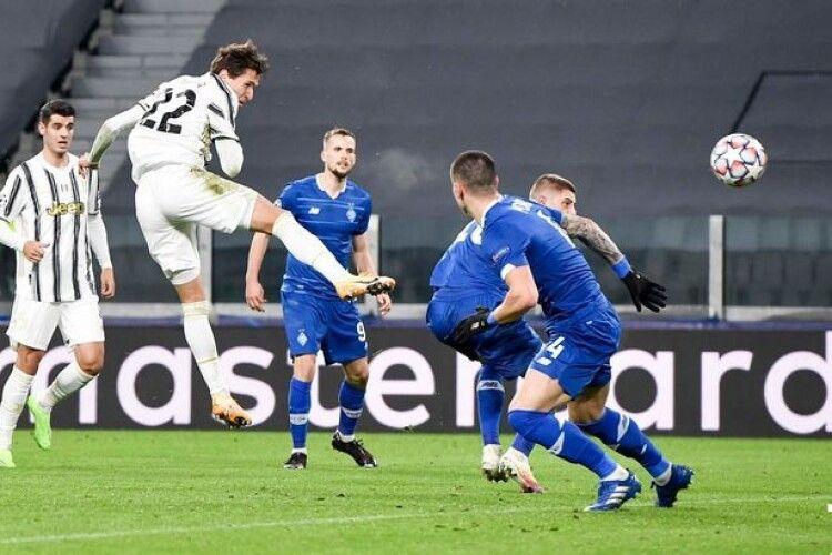 «Динамо» з рахунком 0:3 поступається в Турині «Ювентусу», але має кращі шанси за «Шахтар»… (Відео)