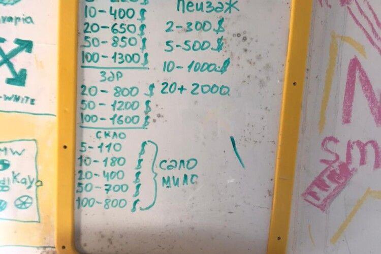 «Мінус» - по 5 доларів, «пейзаж» - до 2 тисяч: на Сарненщині вилучили понад 100 кг бурштину та записи із його «курсом»