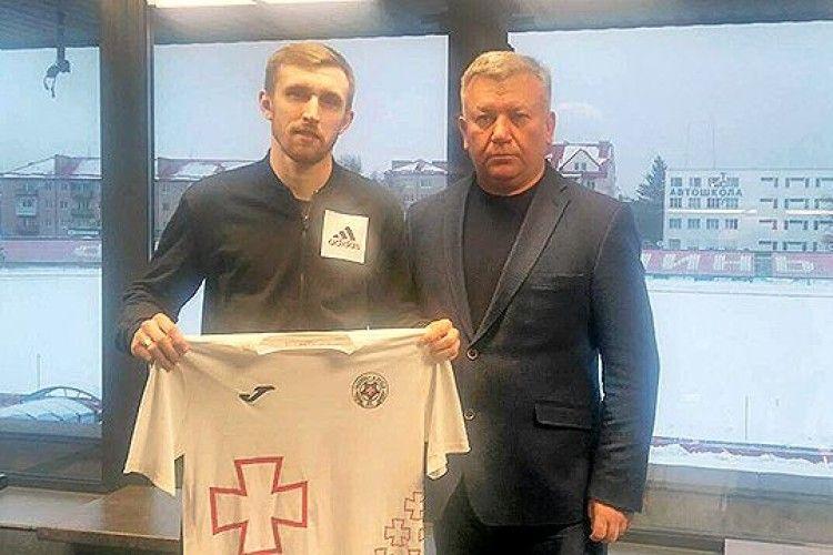 Луцька «Волинь» «підписала» екс-гравця «Шахтаря», ФК «Полтава» та «Геліоса»