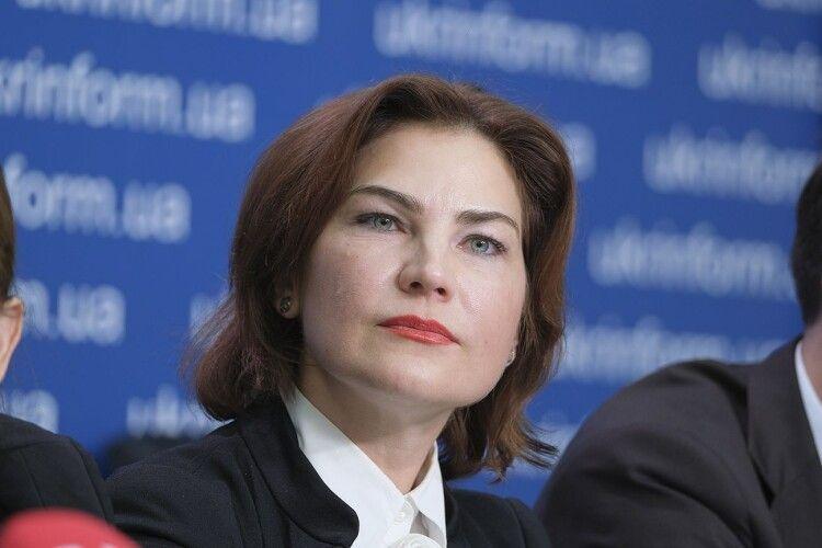 Ірина Венедіктова розповіла, як часто обговорює із президентом Зеленським «нагальні питання»