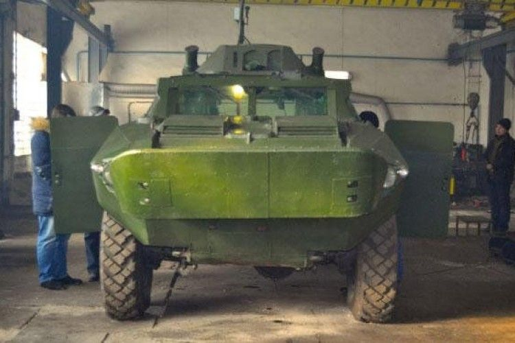 Оголосили конкурс на кращу назву броньованої машини для наших бійців
