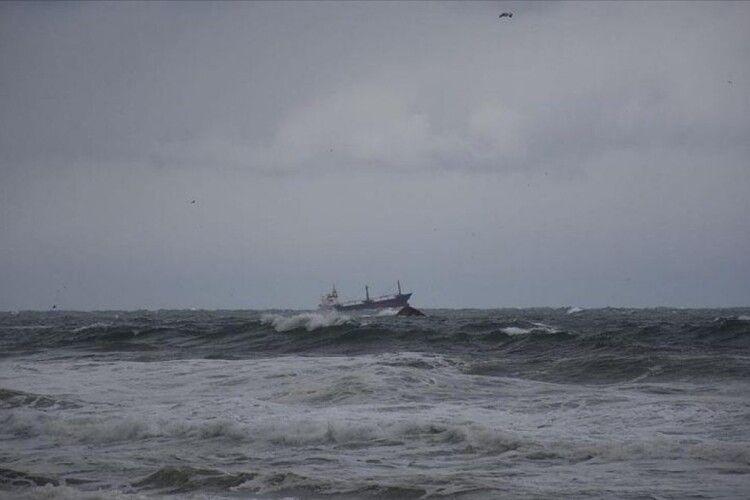 У Чорному морі військовий корабель України зазнав аварії