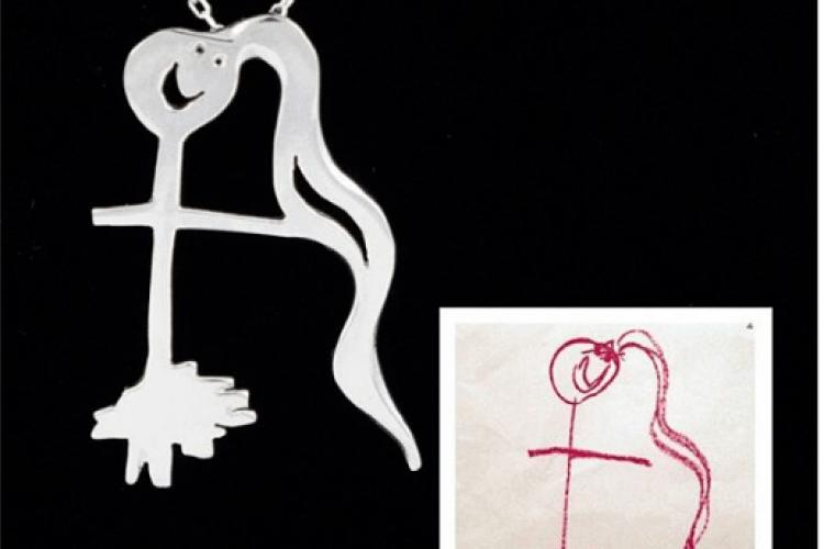 Турецька компанія перетворює дитячі малюнки у дорогі ювелірні вироби