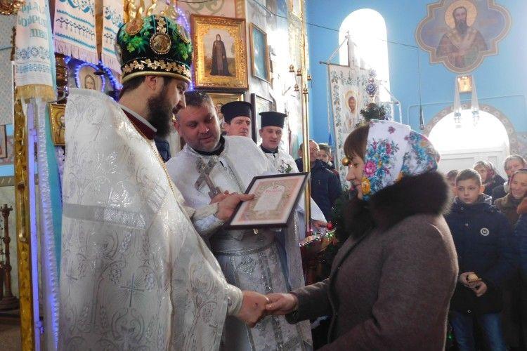 У Лемешеві на Горохівщині відзначили 25-річчя храму