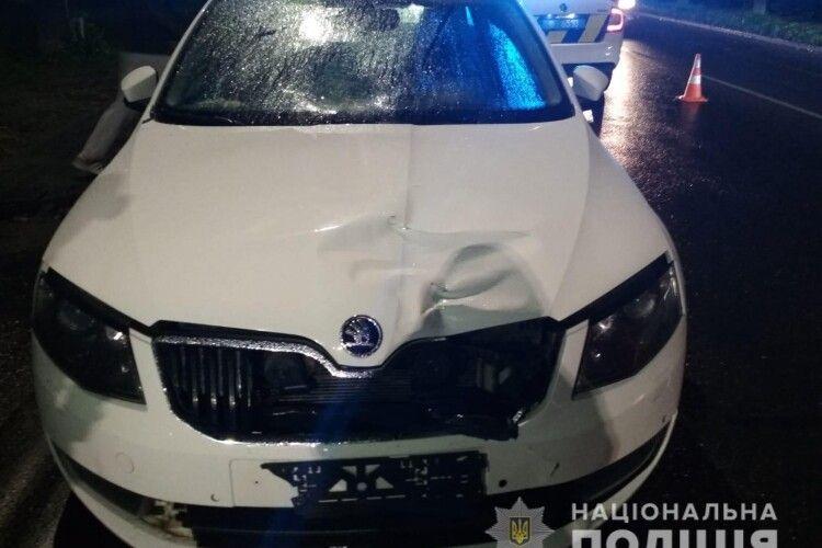 У Луцьку авто збило неповнолітню: дівчина в реанімації