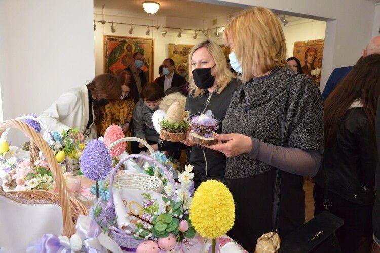 У Музеї Волинської ікони стартувала виставка-продаж «Великодній hand made» (Фото)