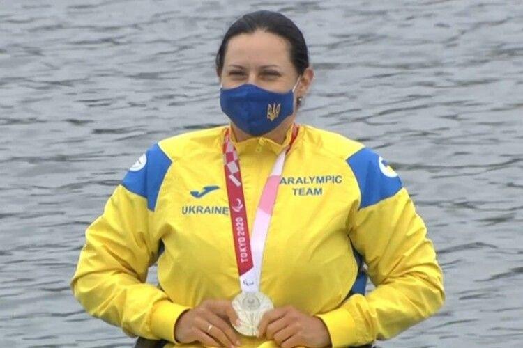 Волинянка Марина Мажула виграла «срібло» Паралімпіади у веслуванні на байдарках (Відео)