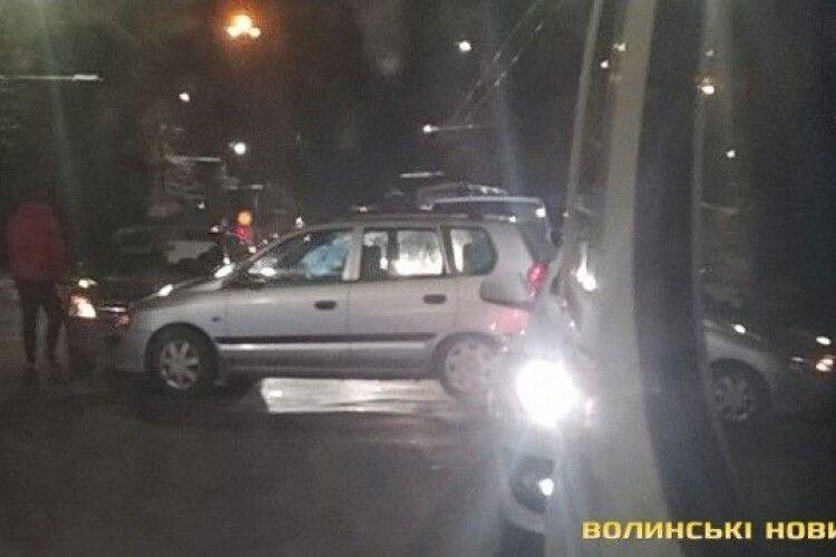 У Луцьку сталася ДТП: зіткнулися Fiat та Opel (Фото)